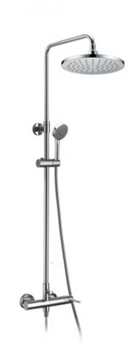 Rociador de ducha modelo round con monomando