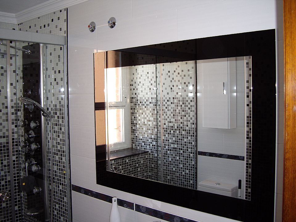 Espejo de baño grande