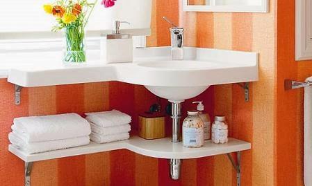 Baños con papel pintado