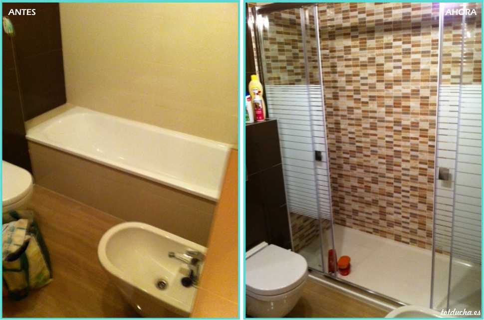 Cambio de bañera y chapado hasta techo