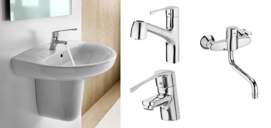 Accesorios de baño para viviendas accesibles