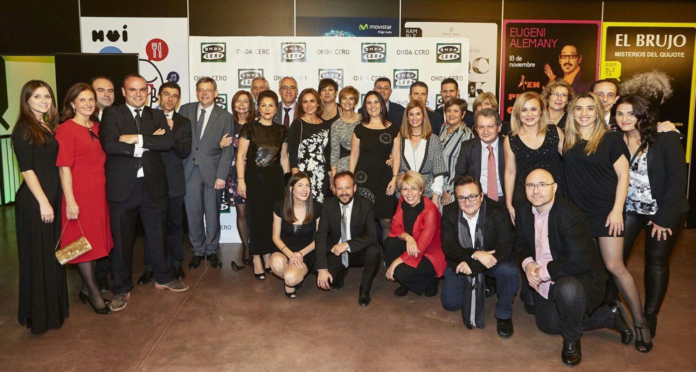 Totducha en premios Onda Cero Valencia