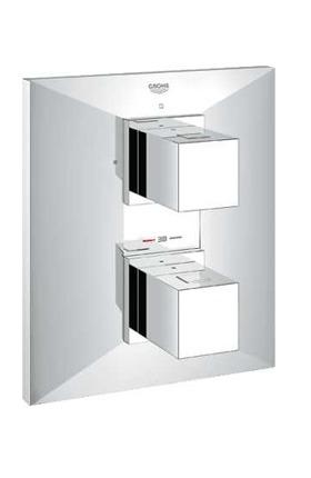 grifo termostático firma Grohe para baño