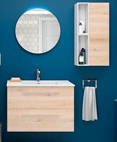 mueble de baño reducido de Salgar
