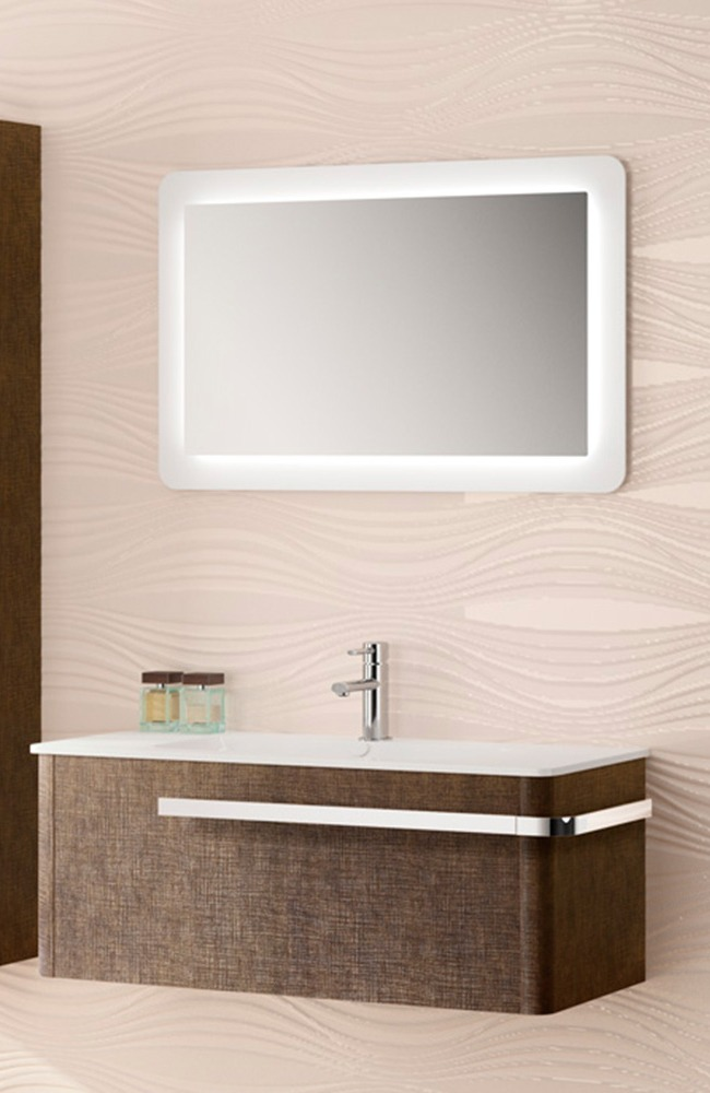 mueble de baño Aradia lino de Salgar