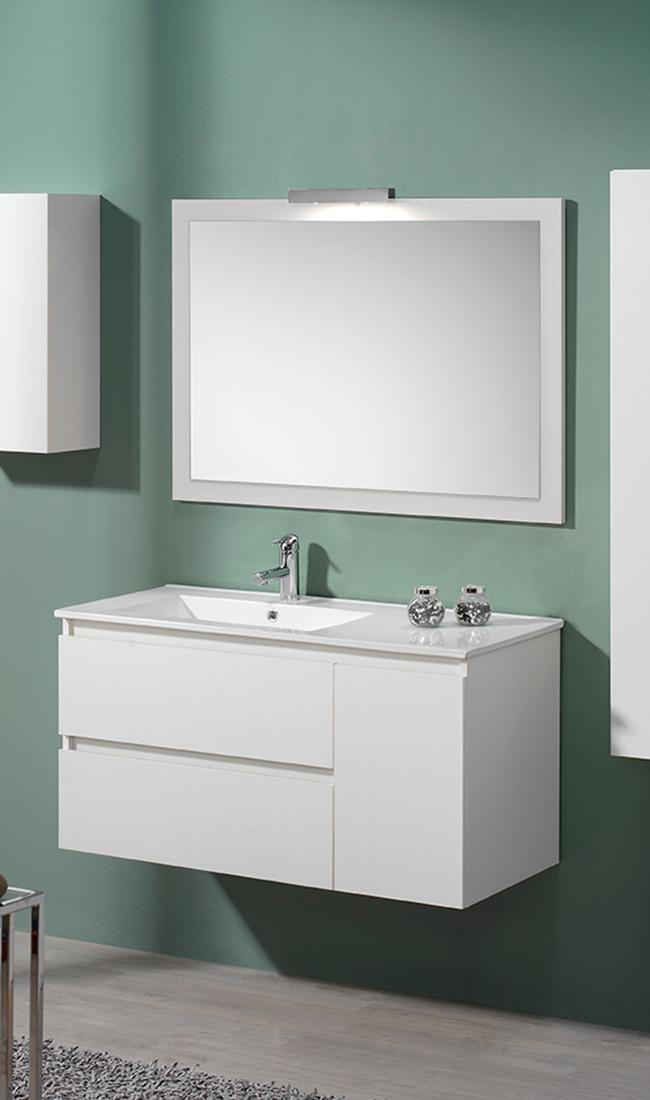 mueble de baño blanco Beverly Valman