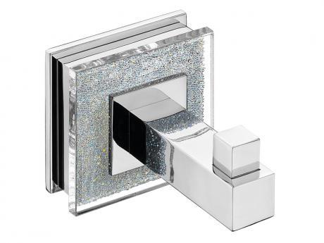 percha de baño con cristales Swarovski