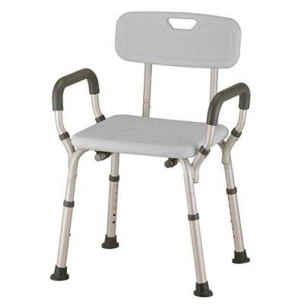 silla adaptada con respaldo