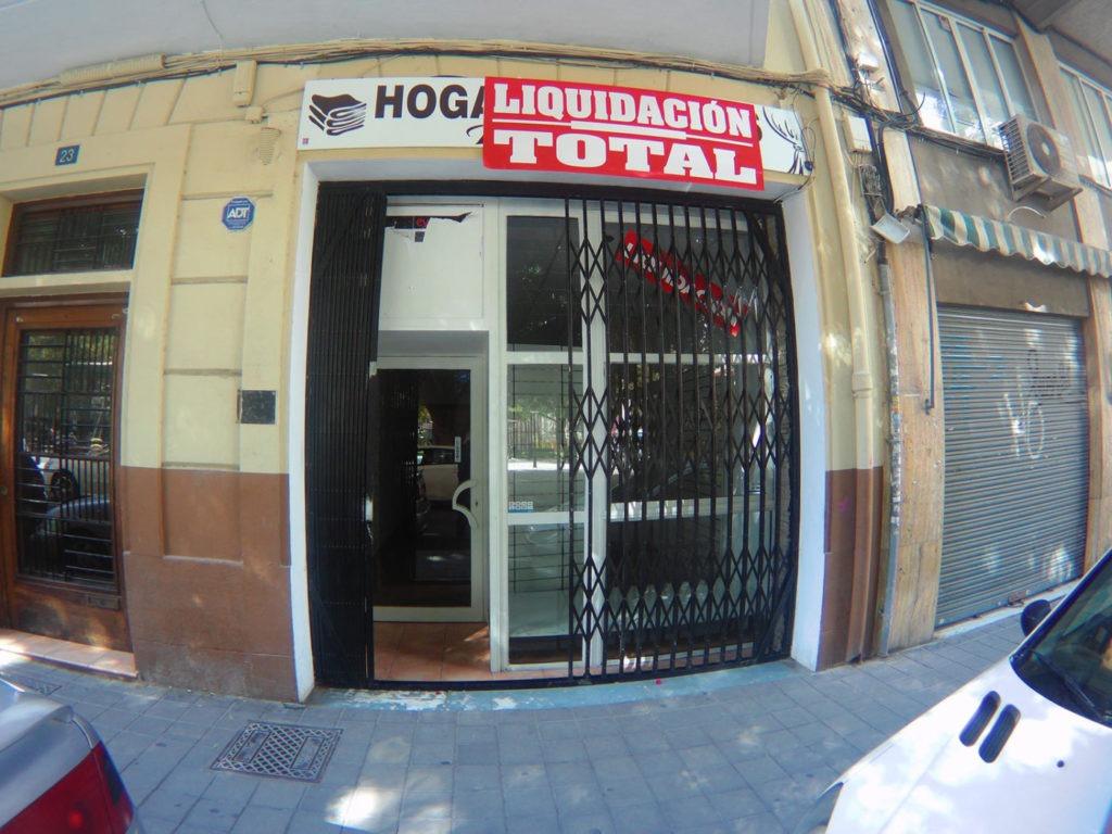 exterior del nuevo local en Alicante