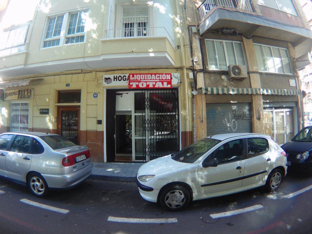 fachada exterior local Totducha en Alicante