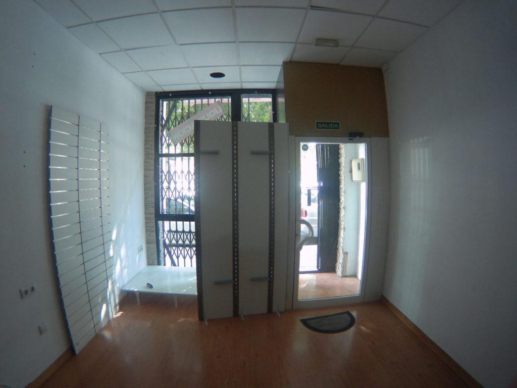 interior del nuevo local en Alicante