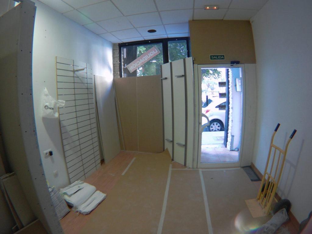 obras para abrir nueva tienda Totducha en Alicante