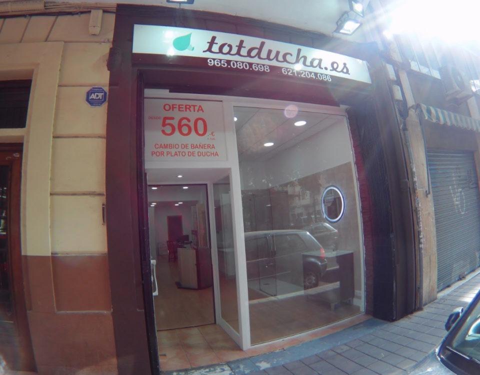 fachada exterior Totducha Alicante