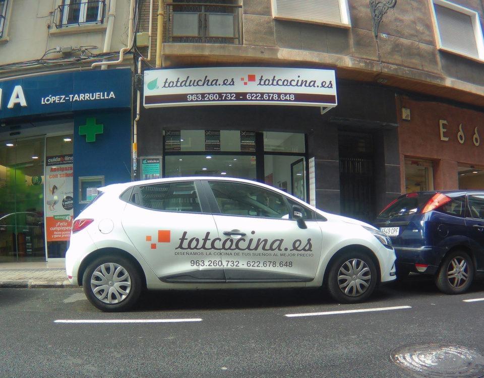 exterior tienda Totducha calle Azcárraga