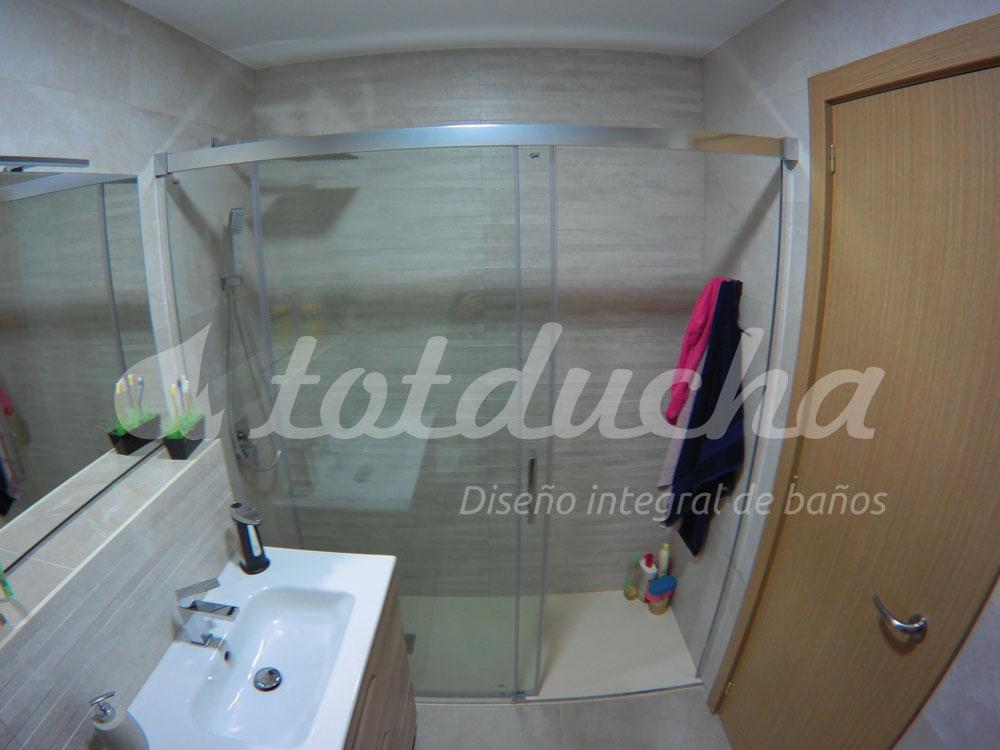 reforma integral de baño realizada por Totducha
